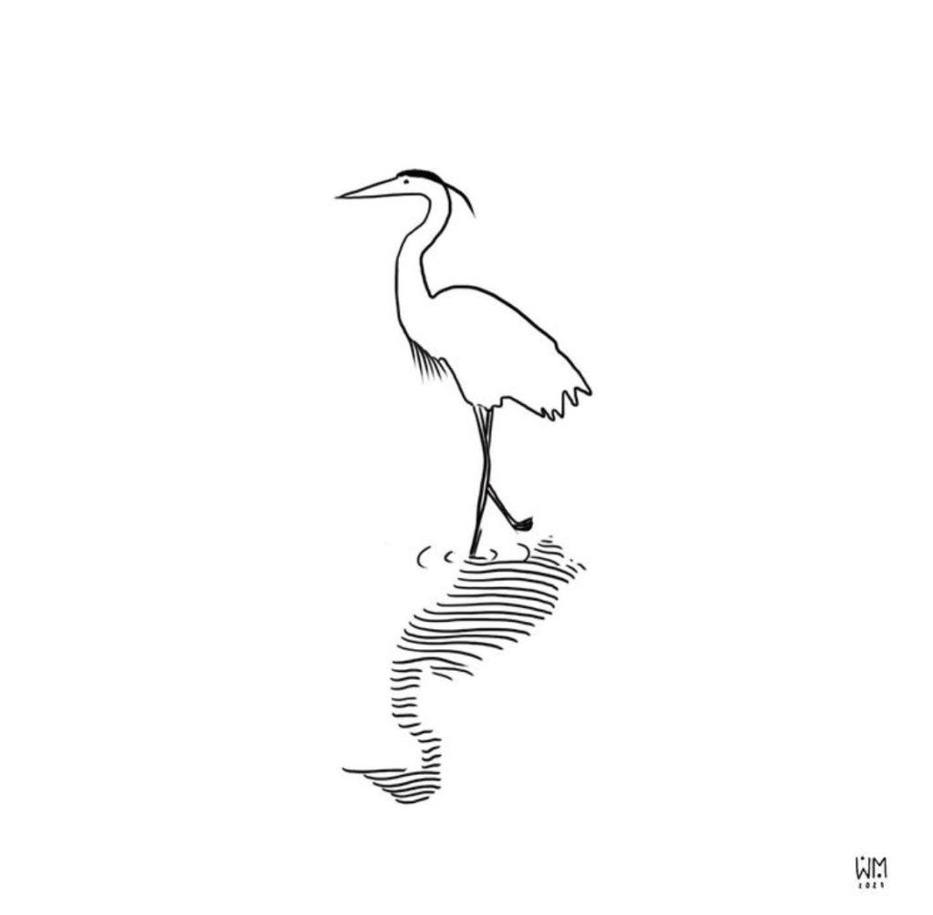 Heron Stick and Pole