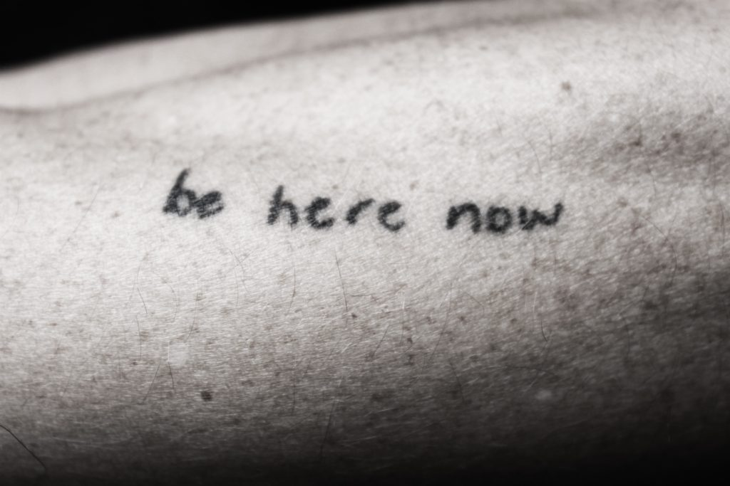 Be Here Now Stick and Pole